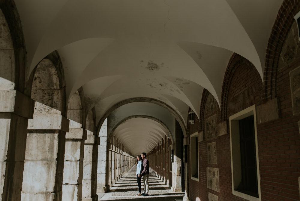 Preboda en Aranjuez
