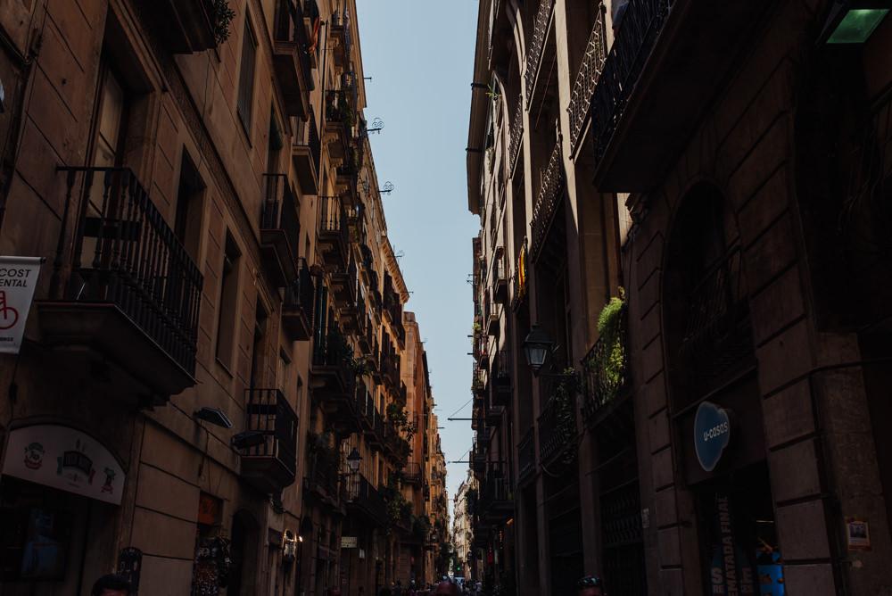Postboda en Barcelona